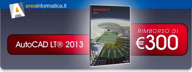 Sconto per Autocad LT 2013